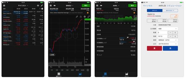 米国株スマホアプリ